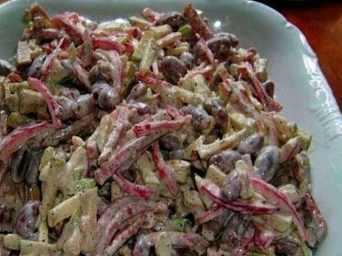 салат баварский рецепт